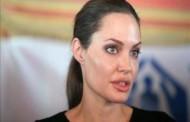بازدید آنجلینا جولی هنرپیشه معروف آمریکایی از اردوگاه پناهندگان سوری در اردن