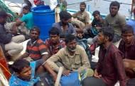 دولت استرالیا ۱۵۳ پناهجوی سریلانکایی را روی دریا حبس کرده است