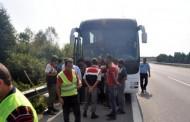 سفر 18 ساعته سه پناهجوی افغان در زیر اتوبوس – ترکیه
