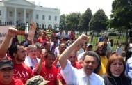 حمایت فعالان از مهاجرین غیرقانونی در محابس امریکا