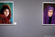 """بازداشت زن """"چشم سبز"""" معروف افغان در پاکستان"""