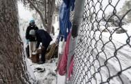 هزاران پناهجو در یونان بدون امکانات در یخبندان شدید گرفتار شدهاند