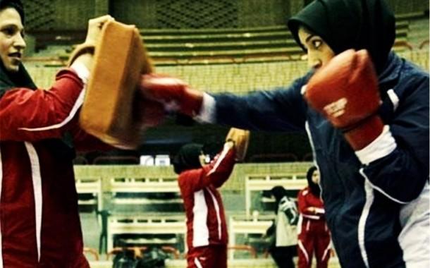 دختر ورزشکار افغان از شرکت در مسابقات کیکبوکسینگ تهران بازماند