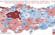 دانشگاه های ترکیه، میزبان بیش از صد هزار دانشجوی خارجی می باشد