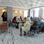 کورس آرایشگری برای خانم های پناهنده افغان