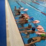 آموزش شنا به کودکان افغان