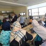 مراحل ثبت نام خانم های افغان در کورس های مختلف توسط ذاکره فروتن