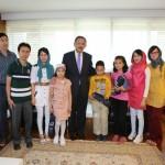دیدار با شهردار عمومی شهر قیصریه