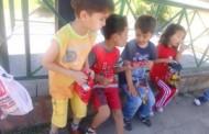 گالری میله با 60 اطفال مهاجر در شهر قیصریه