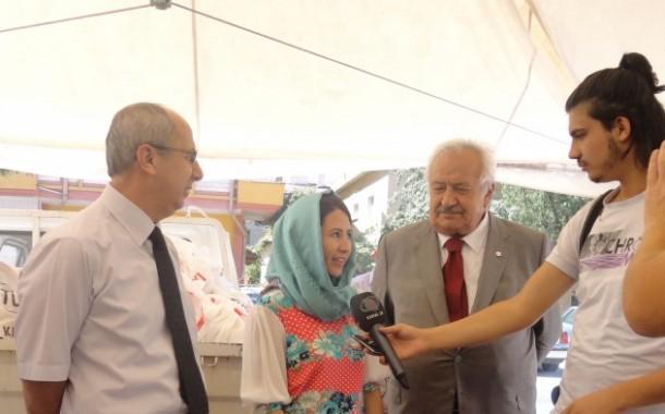 دیدار ذاکره فروتن فعال مدنی و مدافع حقوق پناهندگان با مقامات شهر قیصریه – ترکیه