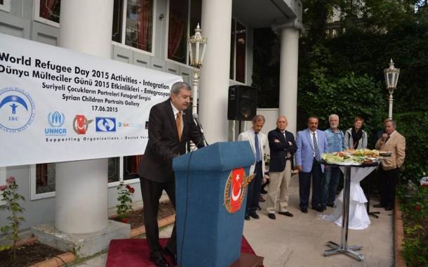 """""""انجمن همبستگی و همدردی با پناهجویان افغان در ترکیه"""" میزبان برنامه هفته پناهندگی در آنکارا-ترکیه"""